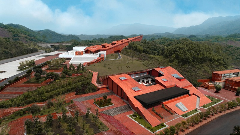 Dossier de presse | 1028-13 - Communiqué de presse | 2019 Shortlist Announced for ABB LEAF Awards - Arena International Group - Architecture industrielle - Up to the Mountain and Down to the River, Fuxing Town, China - Crédit photo : West-line Studio