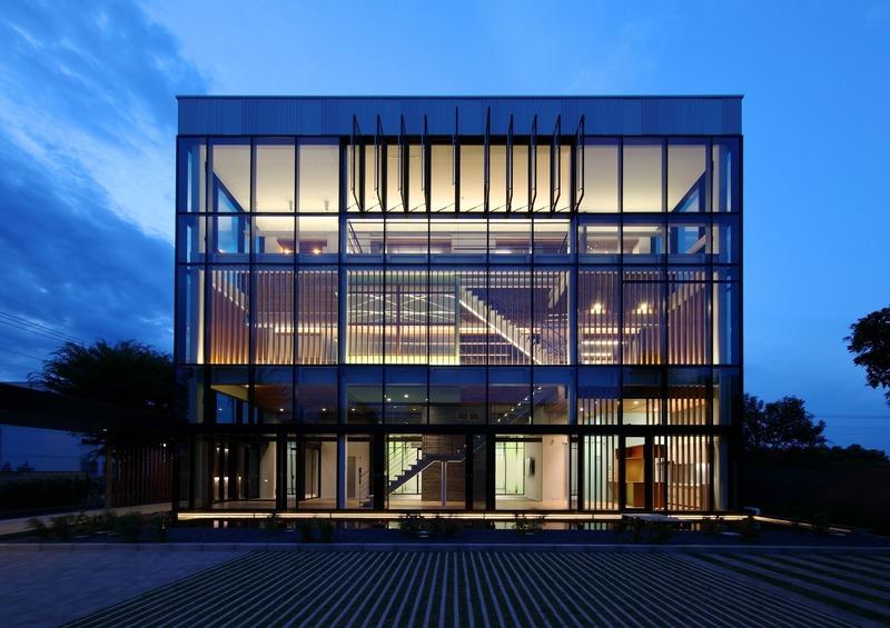 Dossier de presse | 1028-13 - Communiqué de presse | 2019 Shortlist Announced for ABB LEAF Awards - Arena International Group - Architecture industrielle - KP-Project, Saitama-ken, Japan - Crédit photo : Yoshihiro Onodera Architects