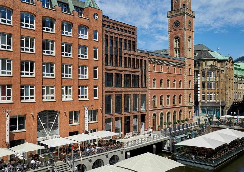 Dossier de presse | 1028-13 - Communiqué de presse | 2019 Shortlist Announced for ABB LEAF Awards - Arena International Group - Architecture industrielle - Große Bleichen 19, Hamburg, Germany - Crédit photo : TCHOBAN VOSS Architekten
