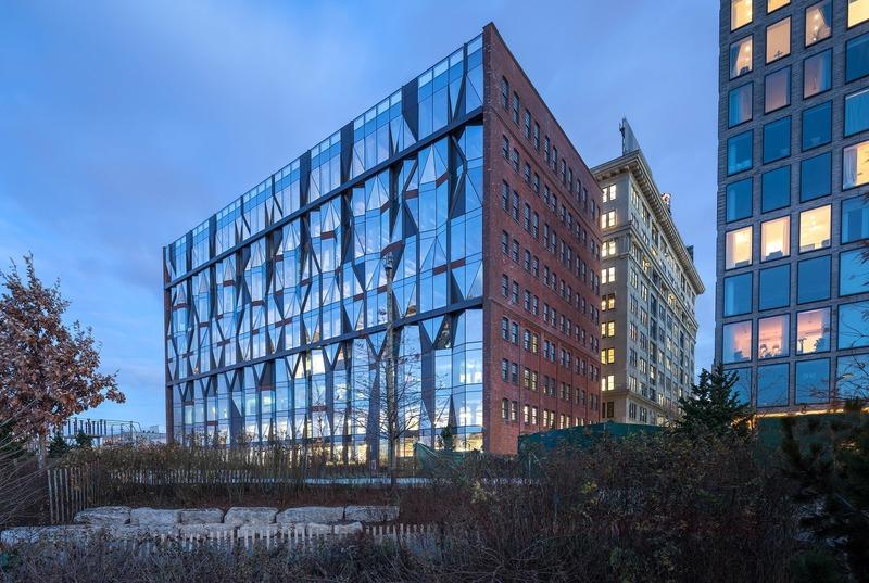 Dossier de presse | 1028-13 - Communiqué de presse | 2019 Shortlist Announced for ABB LEAF Awards - Arena International Group - Architecture industrielle - 10 Jay Street, New York, US - Crédit photo : ODA New York