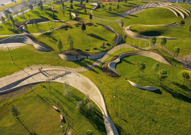 Dossier de presse | 1028-13 - Communiqué de presse | 2019 Shortlist Announced for ABB LEAF Awards - Arena International Group - Architecture industrielle - Koper Central Park, Koper, Slovenia - Crédit photo : ENOTA