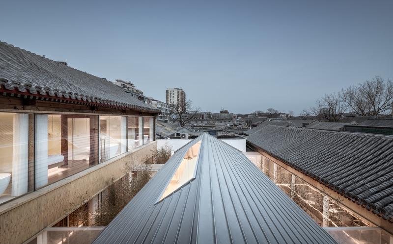 Dossier de presse | 1028-13 - Communiqué de presse | 2019 Shortlist Announced for ABB LEAF Awards - Arena International Group - Architecture industrielle - Layering Courtyard, Beijing, China - Crédit photo : ARCHSTUDIO