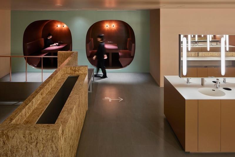Dossier de presse | 1028-13 - Communiqué de presse | 2019 Shortlist Announced for ABB LEAF Awards - Arena International Group - Architecture industrielle - Nine Hours Namba Station, Osaka, Japan - Crédit photo : Naruse Inokuma Architects