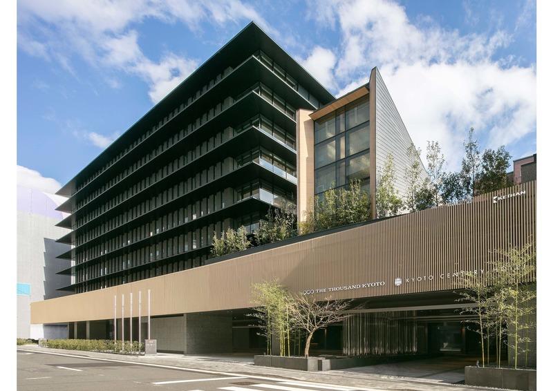 Dossier de presse | 1028-13 - Communiqué de presse | 2019 Shortlist Announced for ABB LEAF Awards - Arena International Group - Architecture industrielle - The Thousand Kyoto, Kyoto, Japan - Crédit photo : Tohata Architects