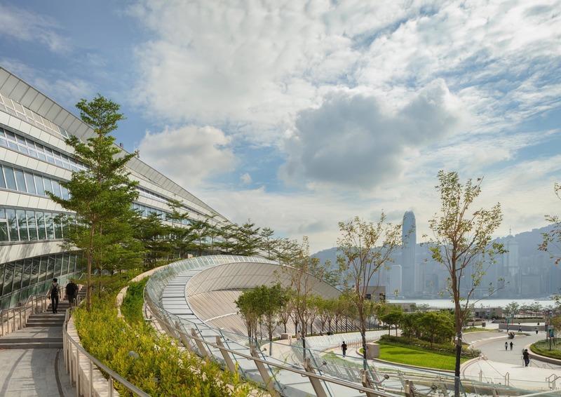 Dossier de presse | 1028-13 - Communiqué de presse | 2019 Shortlist Announced for ABB LEAF Awards - Arena International Group - Architecture industrielle - Hong Kong West Kowloon Station, Hong Kong  - Crédit photo : Andrew Bromberg at Aedas