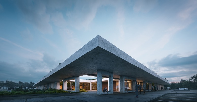 Dossier de presse | 1028-13 - Communiqué de presse | 2019 Shortlist Announced for ABB LEAF Awards - Arena International Group - Architecture industrielle - OIZ Office, Ankara, Turkey - Crédit photo : Yazgan Design
