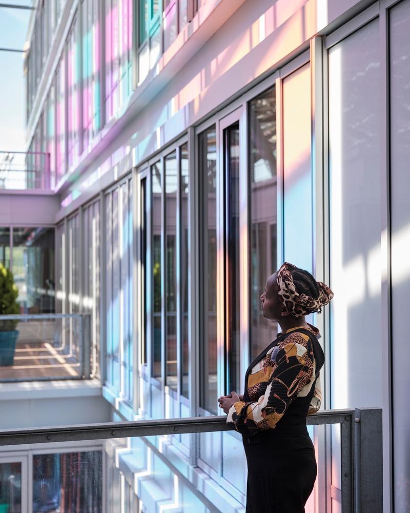 Dossier de presse | 1799-04 - Communiqué de presse | Architecture de la résonance - Ferrier Marchetti Studio - Évènement + Exposition - Siège de la Métropole Rouen Normandie, France, 2018 - Crédit photo : Myr Muratet