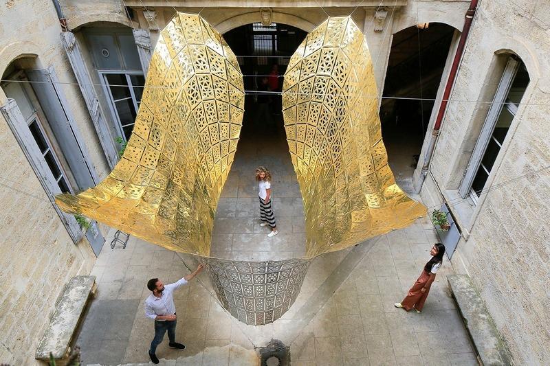 Dossier de presse | 982-44 - Communiqué de presse | Festival des Architectures Vives 2019 - La Beauté - Association Champ Libre - Design urbain - <p>Le Papillon d'Or - Cristina Nan, Dirce Medina Patatuchi, Carlos Bausa Martinez -Édimbourg, Ecosse / Londres, Angleterre</p><p></p><p>Prix du public FAV 2019</p> - Crédit photo : ©photoarchitecture ©FestivaldesArchitecturesVives