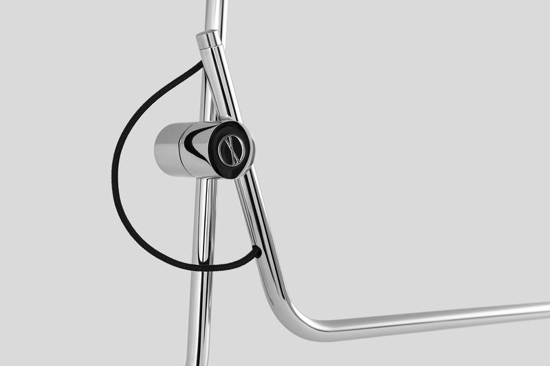 Press kit | 2375-03 - Press release | A Novel Lighting Brand Affirms its Global Presence With an Official Launch in France - Studio d'Armes - Lighting Design -  Hartau Chrome (detail)  - Photo credit: Jean-Sébastien Sénécal