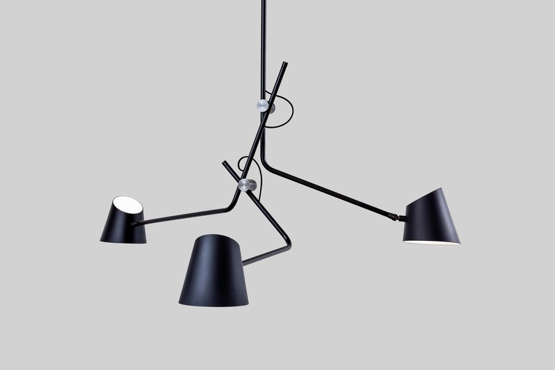 Press kit | 2375-03 - Press release | A Novel Lighting Brand Affirms its Global Presence With an Official Launch in France - Studio d'Armes - Lighting Design - Hartau Triple Black - Photo credit: Jean-Sébastien Sénécal