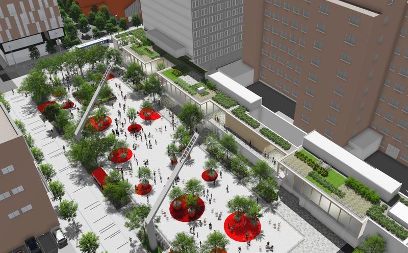 Dossier de presse | 4177-01 - Communiqué de presse | La Ville de Montréal lance un concours de design pour la conception d'un mobilier ludique - Ville de Montréal - Concours - Crédit photo : Ville de Montréal