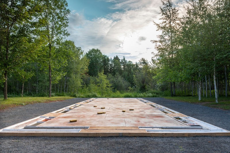 Press kit | 837-33 - Press release | The International Garden Festival Celebrates its 20th Edition - Playgrounds - International Garden Festival / Reford Gardens - Landscape Architecture - The Colours of Métis<br>SOWATORINI Landshaft [Sébastien Sowa &amp; Gianluca Torini] &amp; sevengardens [Isabelle Smolin]<br>– Berlin et Essen, Germany - Photo credit: Jean-Christophe Lemay