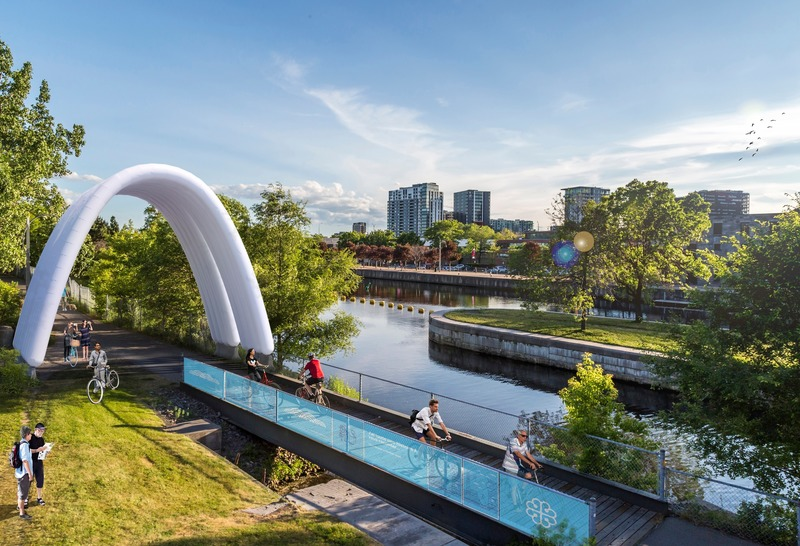 Press kit | 1057-07 - Press release | IMAGO - KANVA - Urban Design - IMAGO - Canal Lachine - Photo credit: KANVA