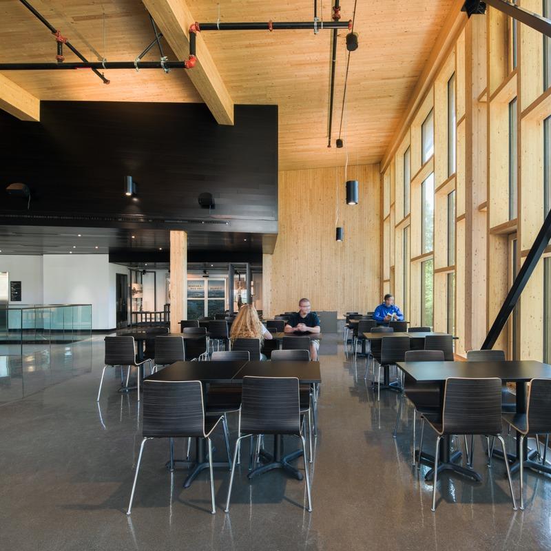 Press kit | 1170-05 - Press release | Parc de la Rivière-des-Mille-Îles: the new exploration centre welcomes its first visitors - Cardin Julien - Institutional Architecture - Photo credit: David Boyer