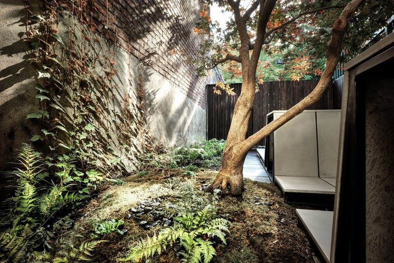 Press kit | 1054-06 - Press release | The inner courtyard - MYTO design d'espaces vivants - Landscape Architecture - Photo credit: Pierre Béland