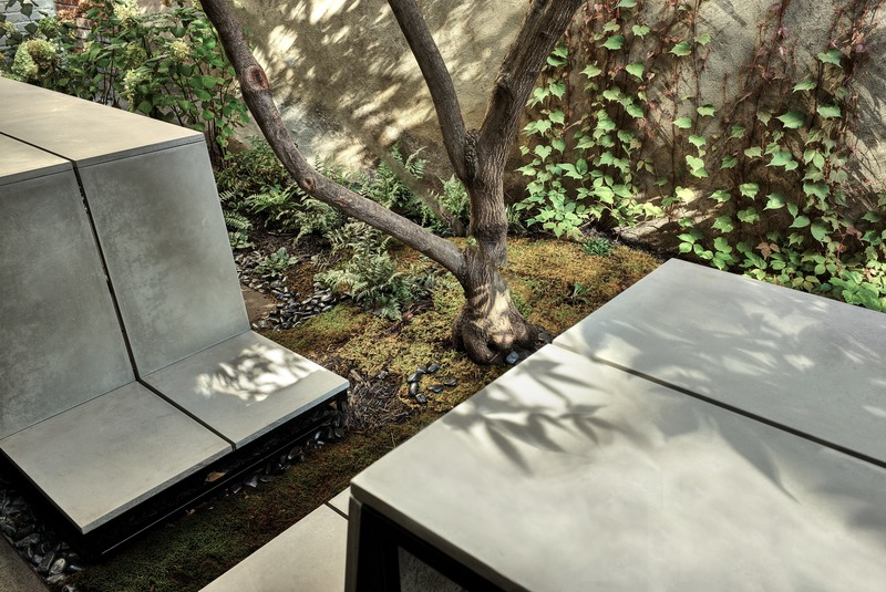 Press kit | 1054-06 - Press release | The inner courtyard - MYTO design d'espaces vivants - Landscape Architecture - Photo credit: Pierre Béland