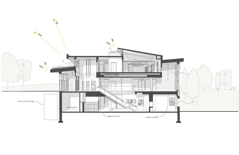Press kit | 1170-05 - Press release | Parc de la Rivière-des-Mille-Îles: the new exploration centre welcomes its first visitors - Cardin Julien - Institutional Architecture - Photo credit: Jean-François Julien