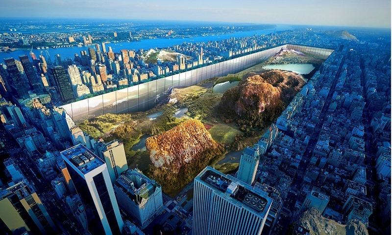 Press kit | 1127-15 - Press release | 2020 Skyscraper Competition - eVolo Magazine - Competition - 2016 Winner - New York Horizon - Photo credit: eVolo Magazine. Yitan Sun, Jianshi Wu