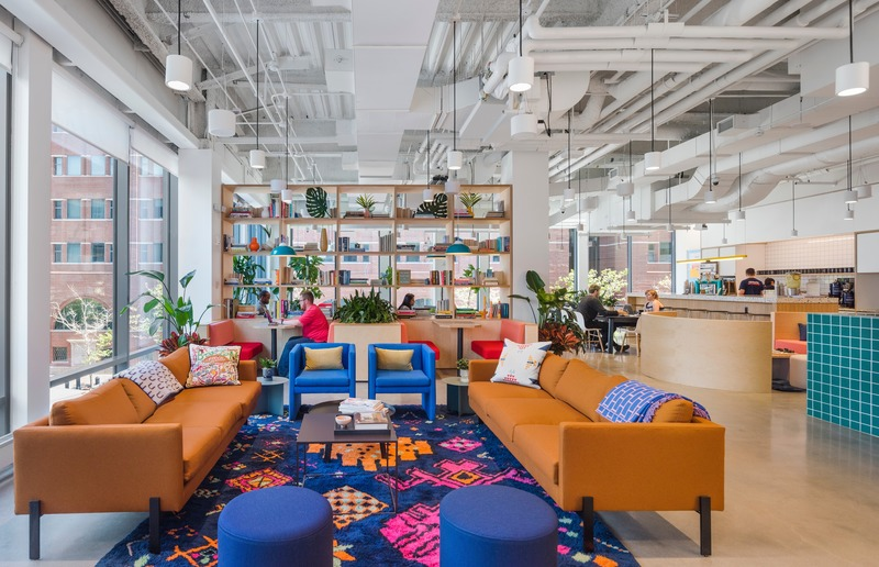 Press kit | 2757-11 - Press release | Bergmeyer Establishes West Coast Base in Los Angeles - Bergmeyer - Commercial Architecture -  WeWork (Boston, MA)  - Photo credit:  Anton Grassl Architectural Photography