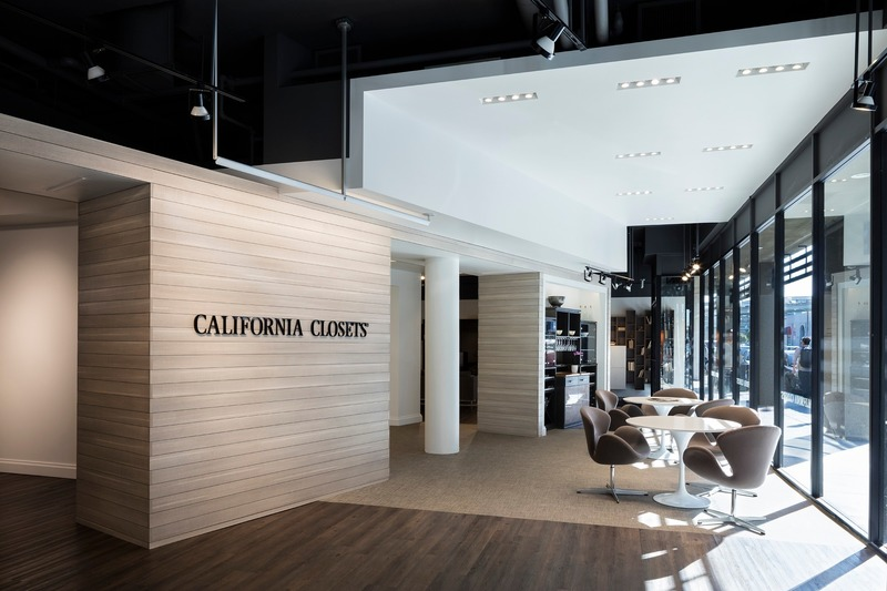 Press kit | 2757-11 - Press release | Bergmeyer Establishes West Coast Base in Los Angeles - Bergmeyer - Commercial Architecture -  California Closets Flagship (San Francisco, CA)  - Photo credit:  Chun Y Lai Photography
