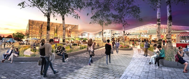 Press kit | 675-15 - Press release | Ædifica Announces New Expertise in Placemaking and Welcomes Urban Planner Samir Admo as its Director - Ædifica - Urban Design - Renewal of Marché Central - Photo credit: Ædifica