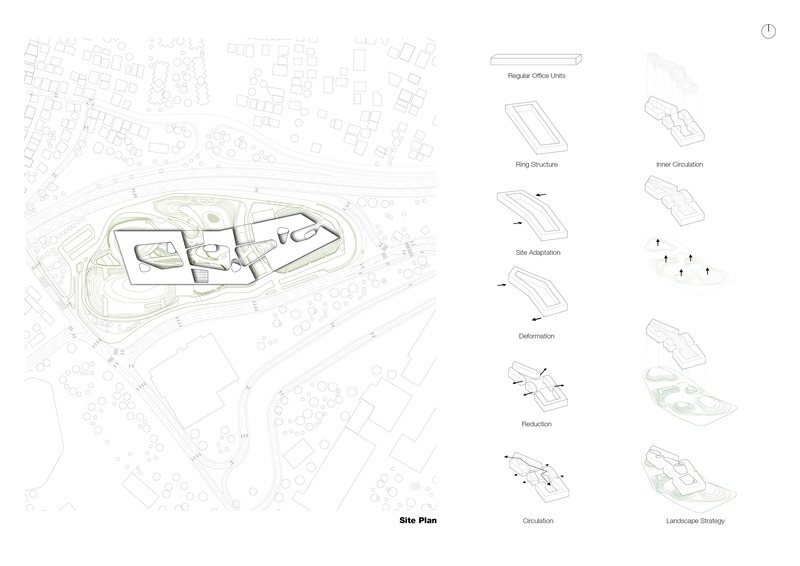 Dossier de presse | 4078-01 - Communiqué de presse | Campus de Technologie de Garanti BBVA - ERA Architects - Architecture institutionnelle - Crédit photo : ERA Architects