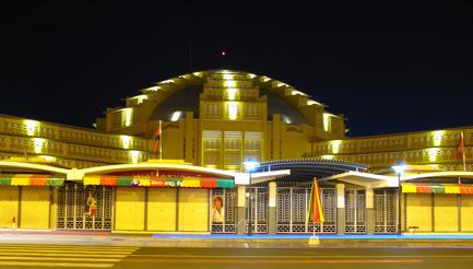 Dossier de presse | 896-02 - Communiqué de presse | Réhabilitation-extension du nouveau Marché Central de Phnom Penh - Arte Charpentier Architectes - Architecture commerciale - Crédit photo : Arte Charpentier Architectes