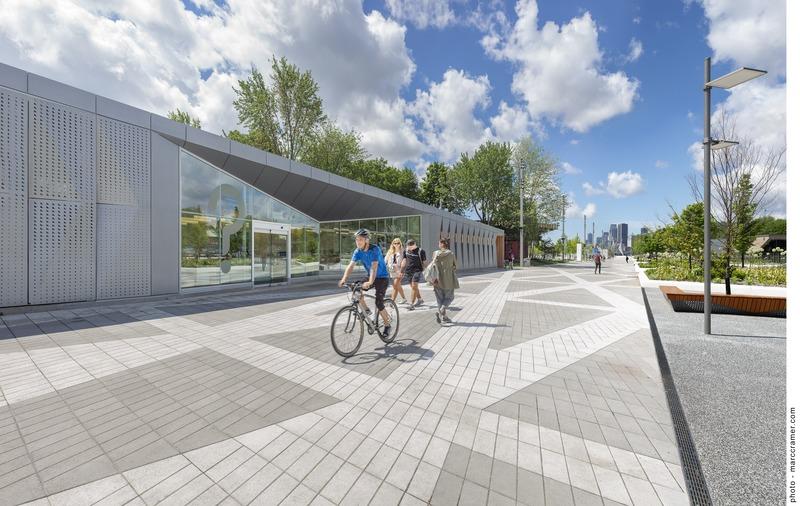 Dossier de presse | 865-36 - Communiqué de presse | Espace 67 : la magie de l'EXPO renaît en 2019 - Lemay - Architecture de paysage - Crédit photo : Marc Cramer