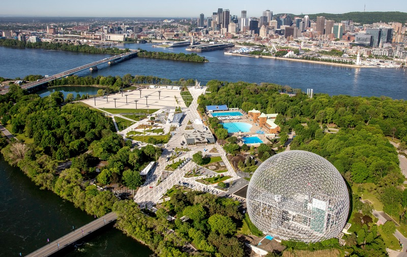 Dossier de presse | 865-36 - Communiqué de presse | Espace 67 : la magie de l'EXPO renaît en 2019 - Lemay - Architecture de paysage - Crédit photo : Société du Parc Jean-Drapeau