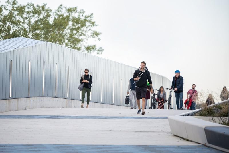 Press kit | 916-14 - Press release | Sciences Complex at the MIL Campus of the Université de Montréal, a transformative social project - Menkès Shooner Dagenais LeTourneux I Lemay I NFOE Architects - Institutional Architecture - Photo credit: Benjamin Seropian