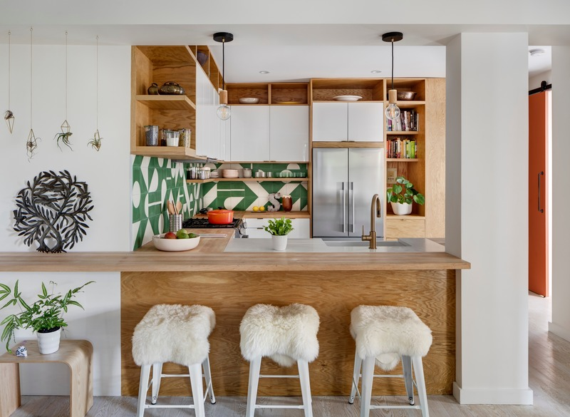 Dossier de presse | 2875-08 - Communiqué de presse | Prospect Park Apartment - BAAO Architects - Design d'intérieur résidentiel - Crédit photo : Francis Dzikowski/OTTO