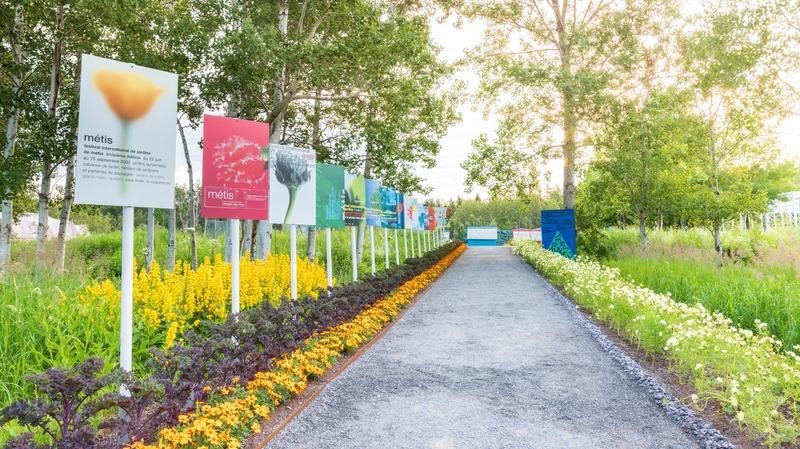 "Press kit | 837-32 - Press release | Call for Proposals - 21st Edition of International Garden Festival - International Garden Festival / Reford Gardens - Competition -         <p class="""">Main entrance 2019 Festival </p> - Photo credit:         <p class="""">Jean-Christophe Lemay </p>"