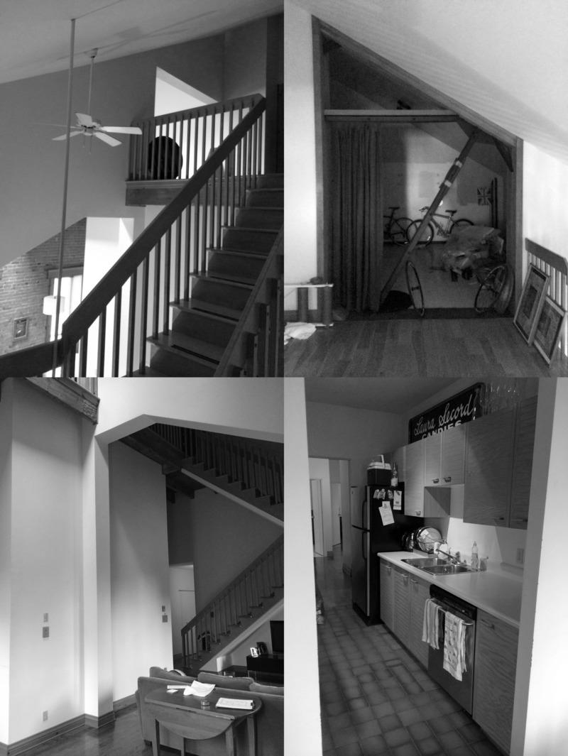 Dossier de presse | 1678-06 - Communiqué de presse | Loft Duvernay - Atelier BOOM-TOWN - Architecture résidentielle - Photos avant les travaux - Crédit photo : Eric Joseph Tremblay