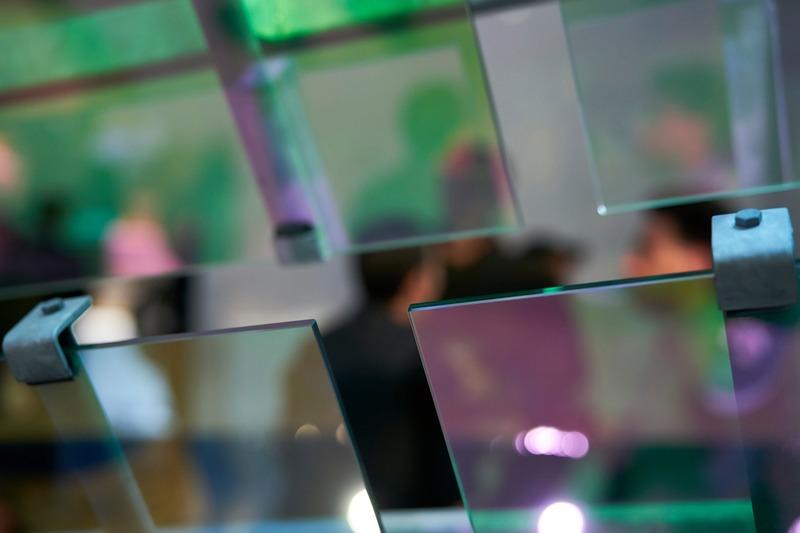 Dossier de presse | 1799-04 - Communiqué de presse | Architecture de la résonance - Ferrier Marchetti Studio - Évènement + Exposition - ENTRE-DEUX_Vernissage_CENTRE DE DESIGN DE L'UQAM_2019 - Crédit photo : Benoit Rousseau