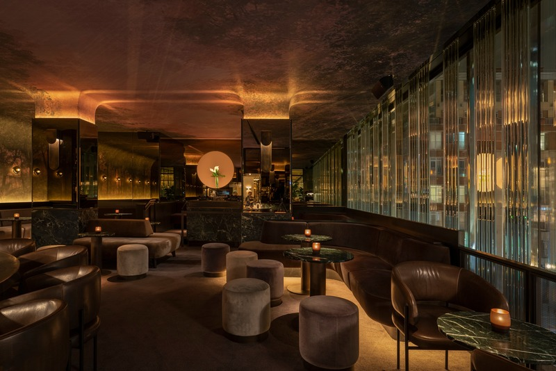 Press kit | 1301-01 - Press release | New MARCUS restaurant at Four Seasons Hotel Montreal - Atelier Zébulon Perron - Commercial Interior Design - Night Bar - Photo credit: Olivier BlouinOlivier Blouin