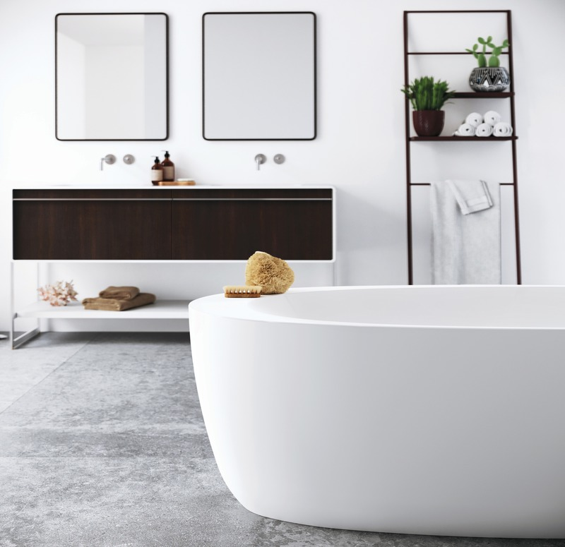 Press kit | 2342-06 - Press release | Relaxation Redefined - WETSTYLE'S fresh new Collections are what Dreams are Made of - WETSTYLE - Industrial Design -   MOOD Bathtub  - Photo credit: WETSTYLE
