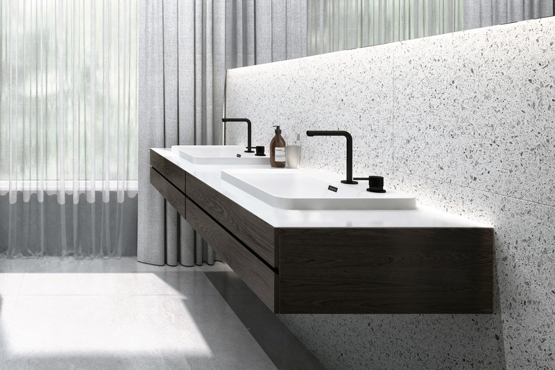 Press kit | 2342-06 - Press release | Relaxation Redefined - WETSTYLE'S fresh new Collections are what Dreams are Made of - WETSTYLE - Industrial Design -   LAB Drop-in Lavatory (Round Series)  - Photo credit: WETSTYLE
