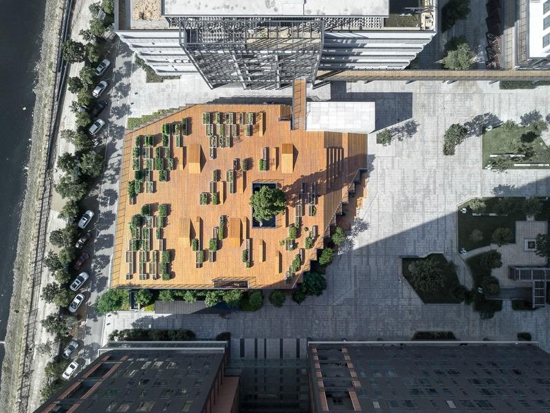 Dossier de presse | 1028-14 - Communiqué de presse | Winners Announced at the 2019 ABB LEAF Awards - Compelo - Concours -        <p>Zishe·Planting Pavilion and Planting Terrace </p>  - Crédit photo : -