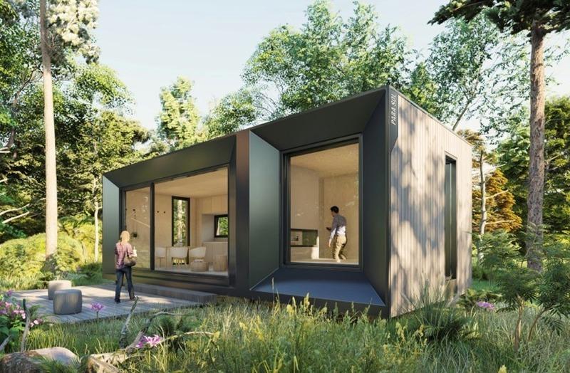 Press kit | 4209-01 - Press release | Kits Écohabitation: Architecture Meets the Prefab Housing Market - Écohabitation - Residential Architecture - Refuge S500<br> - Photo credit: PARA-SOL