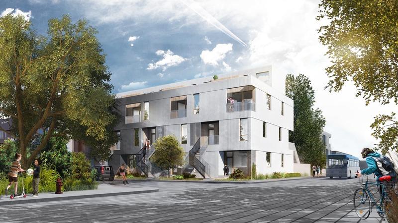 Press kit | 4209-01 - Press release | Kits Écohabitation: Architecture Meets the Prefab Housing Market - Écohabitation - Residential Architecture - Série M<br> - Photo credit: L McComber<br>