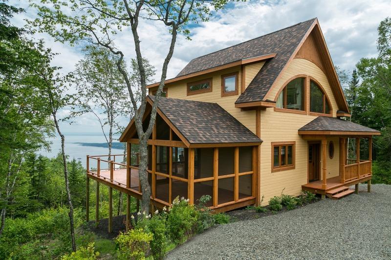 "Press kit | 4209-01 - Press release | Kits Écohabitation: Architecture Meets the Prefab Housing Market - Écohabitation - Residential Architecture - La Charlevoix<br style=""""> - Photo credit: Maryse Leduc<br>"