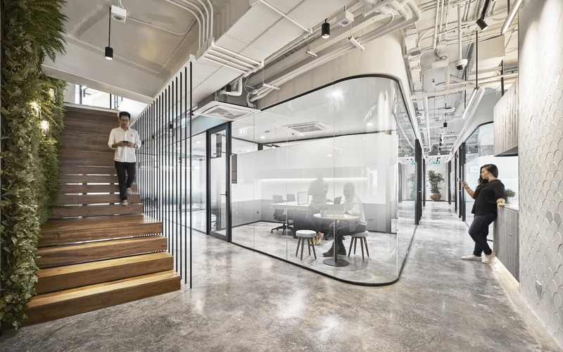 Press kit | 1124-25 - Press release | WINWAN Live 2019: World Interiors News Winners - Haymarket Media Group - World Interiors News - Event + Exhibition - Glowfish Offices - Photo credit: dwp