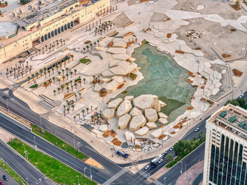 Press kit | 1124-26 - Press release | WINWAN Live 2019: World Architecture News Winners - Haymarket Media Group - World Architecture News - Event + Exhibition - Qasr Al Hosn: Al Musallah, Cebra with / for DCT Abu Dhabi - Photo credit: Department of Culture and Tourism- DCT Abu Dhabi