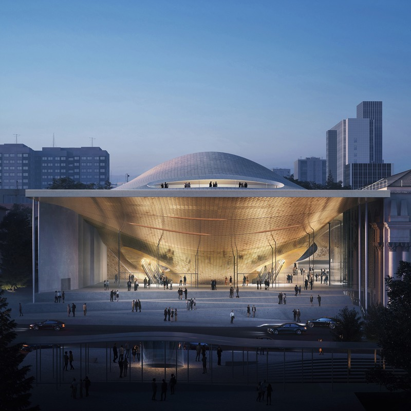 Press kit | 1124-26 - Press release | WINWAN Live 2019: World Architecture News Winners - Haymarket Media Group - World Architecture News - Event + Exhibition -  Sverdlovsk Philharmonic Concert Hall - Photo credit: Zaha Hadid Architects