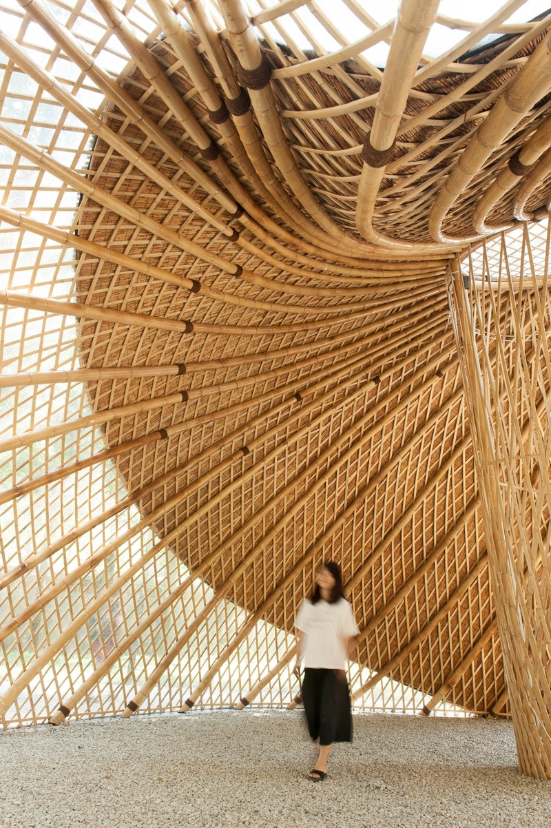 Press kit | 1124-26 - Press release | WINWAN Live 2019: World Architecture News Winners - Haymarket Media Group - World Architecture News - Event + Exhibition -  Swirling Cloud: Bulletin Pavilion for BJFU Garden Festival - Photo credit: SUP Atelier