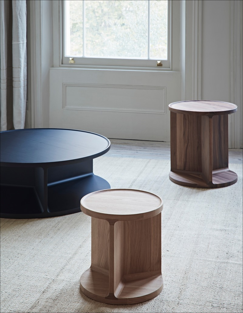 Dossier de presse | 2253-09 - Communiqué de presse | Celebrating Ten Years of Dare Studio with an Edit of Classic Designs and New Products - Dare Studio - Produit - Dare Studio_Drum Low Side, Tall Side and Coffee Table_www.darestudio.com - Crédit photo : Dare Studio