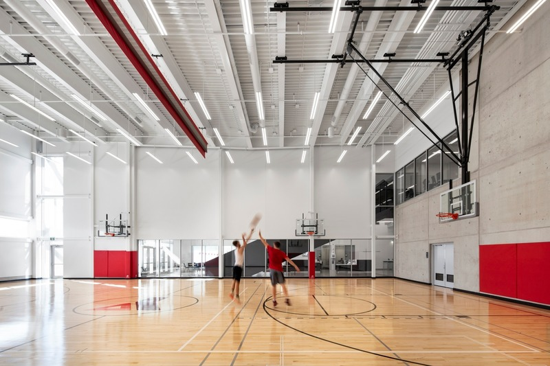 Press kit | 1456-09 - Press release | Laurier Brantford YMCA - CannonDesign - Commercial Architecture - Photo credit: Adrien Williams
