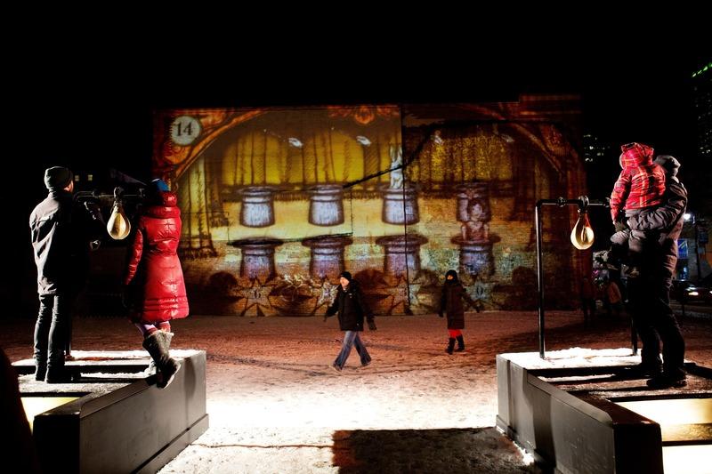 Press kit | 583-21 - Press release | Luminothérapie: 10 Years of Winter Creativity in the Quartier des Spectacles - Quartier des Spectacles Partnership - Event + Exhibition - Fascinoscope, by Lüz Studio - Photo credit: Cindy Boyce