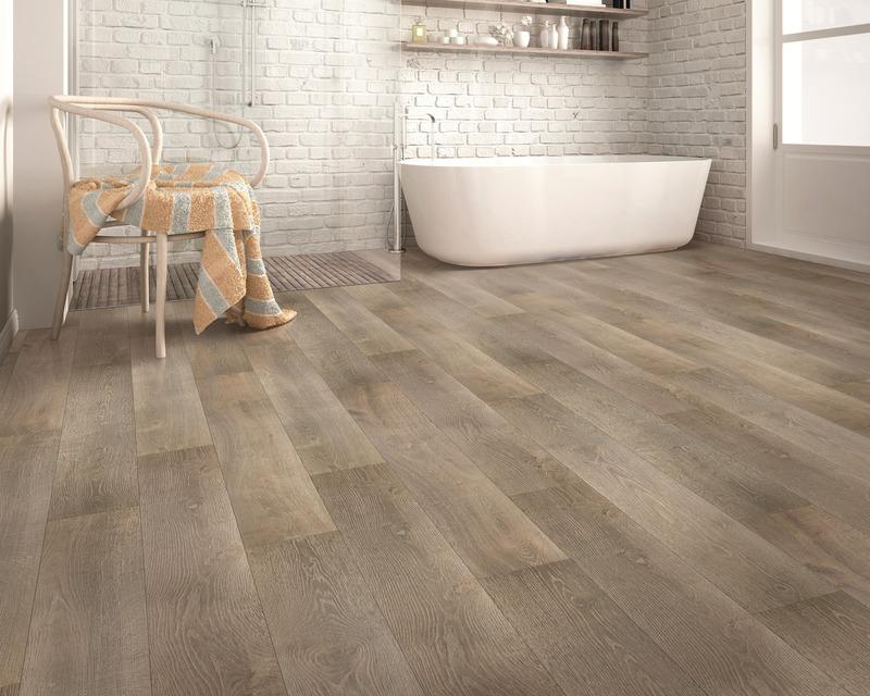 Press kit | 3063-07 - Press release | TORLYS smart floors innove à nouveau avec le laminé intelligent maintenant imperméable - TORLYS - Product