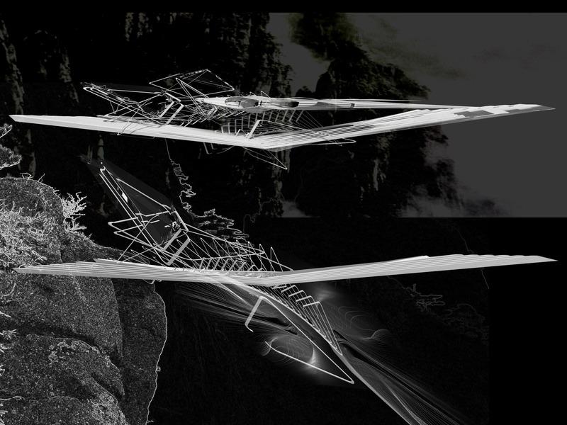 Press kit | 2121-13 - Press release | Piezoelectric pendulum bridge - Margot Krasojević Architects - Landscape Architecture - Inertia bridge pendulum frame fluid dynamics - Photo credit: Margot Krasojević